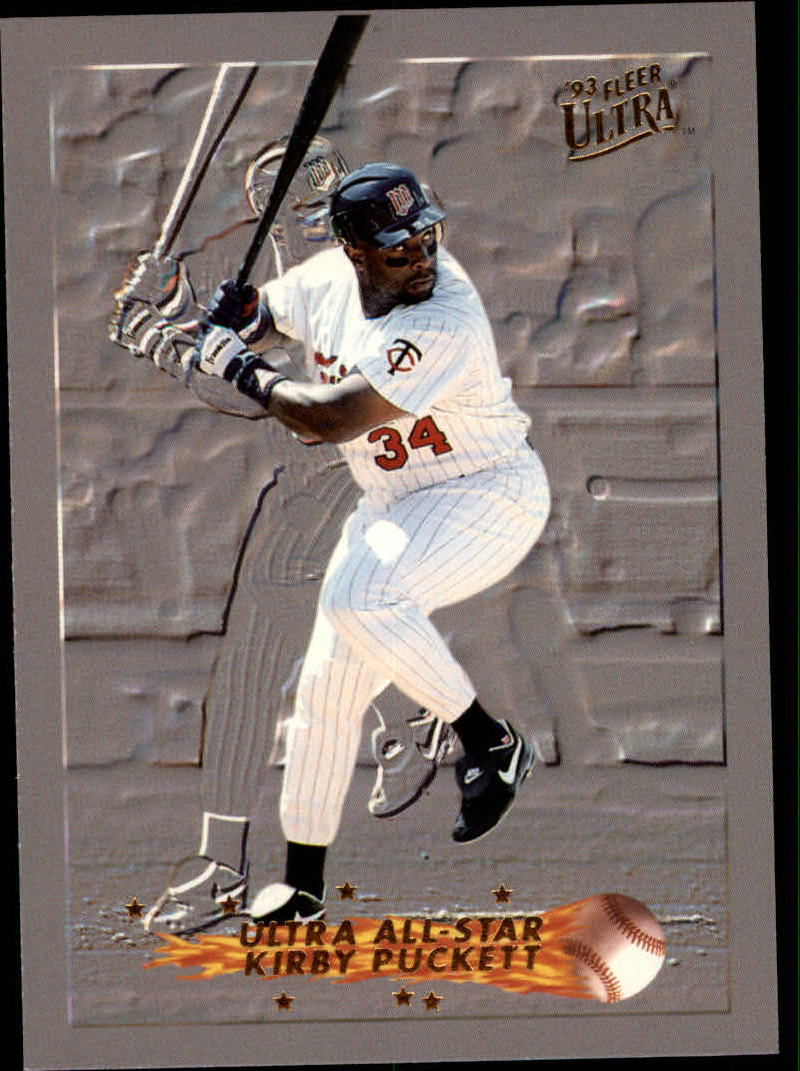 1993 Ultra All-Stars #18 Kirby Puckett