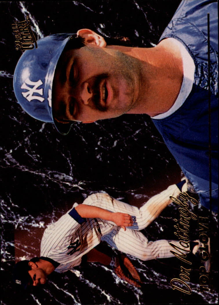 1993 Ultra Award Winners #12 Don Mattingly