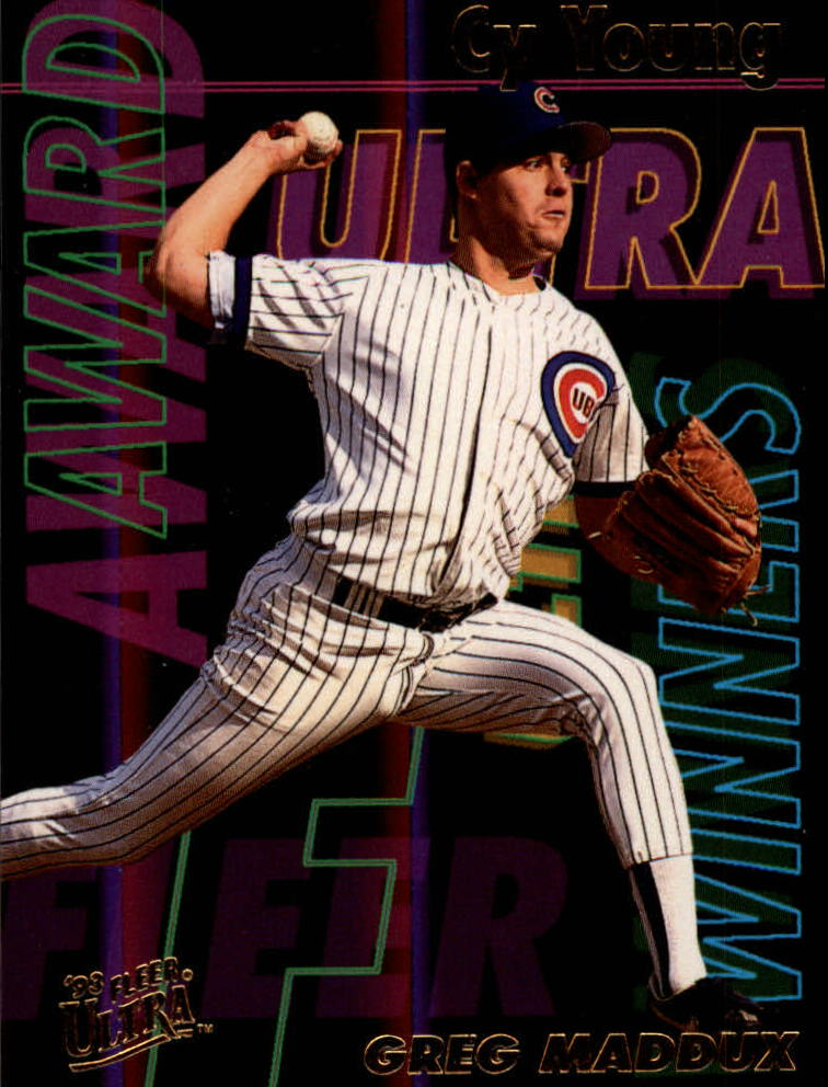 1993 Ultra Award Winners #22 Greg Maddux