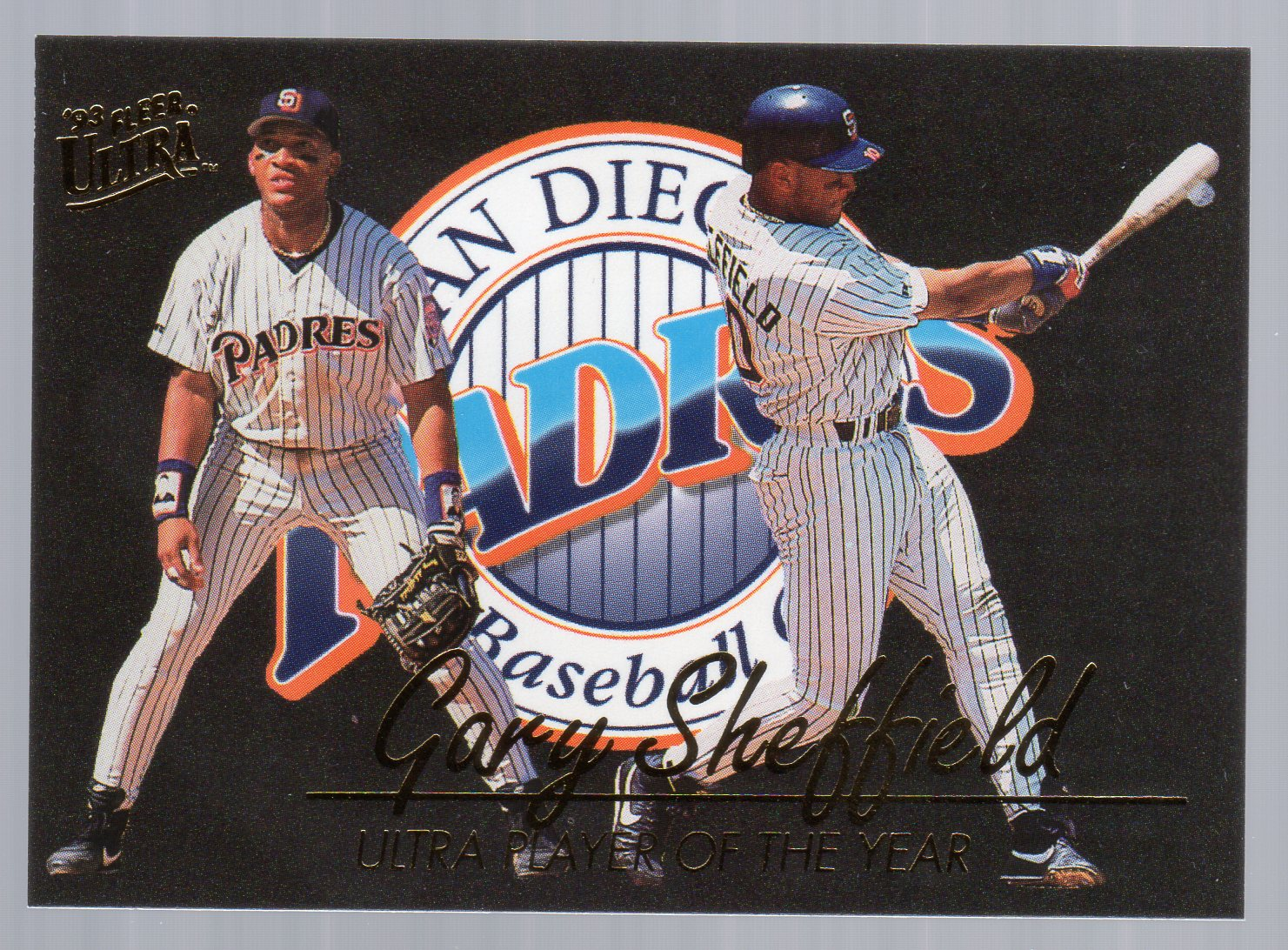 1993 Ultra Award Winners #25 Gary Sheffield