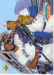 1993 Upper Deck Gold Hologram #42 R.Alomar/J.Carter