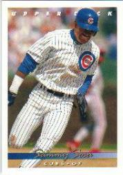 1993 Upper Deck Gold Hologram #127 Sammy Sosa