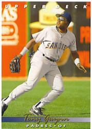 1993 Upper Deck Gold Hologram #165 Tony Gwynn front image