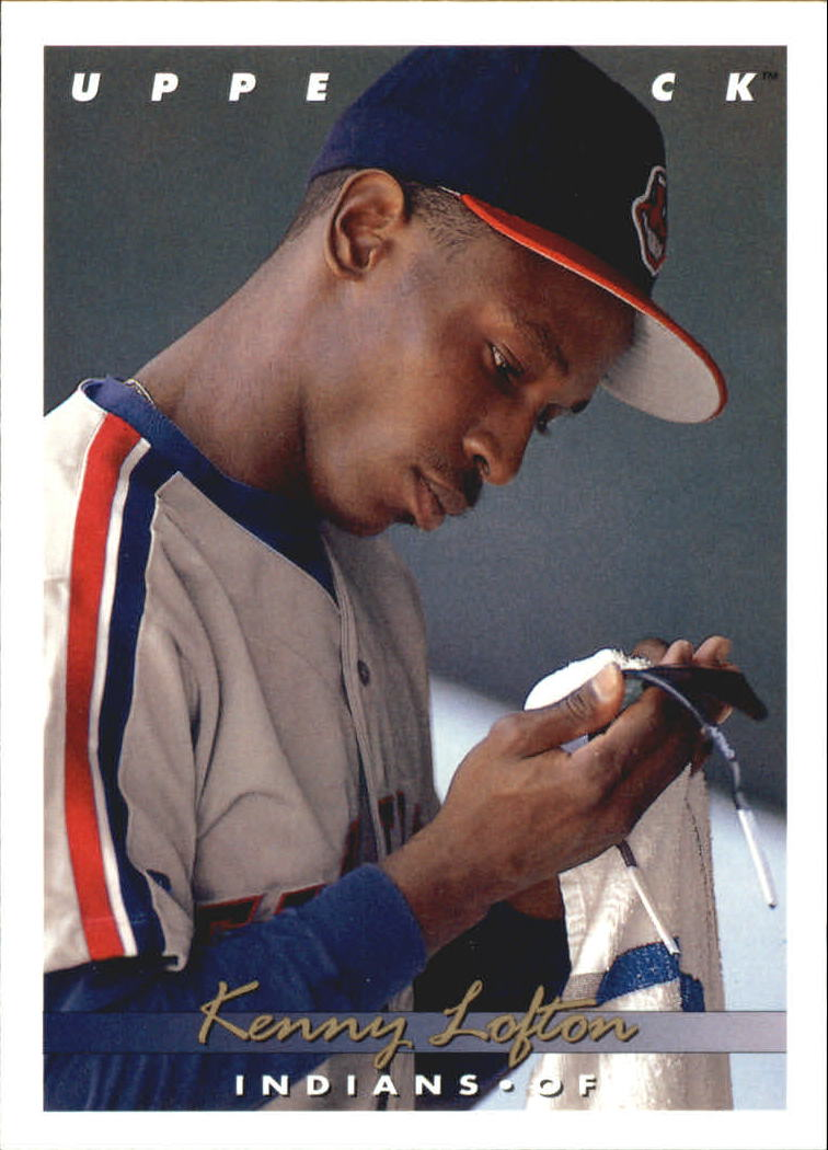 1993 Upper Deck Gold Hologram #262 Kenny Lofton