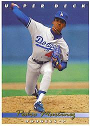 1993 Upper Deck Gold Hologram #324 Pedro Martinez