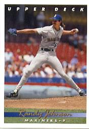 1993 Upper Deck Gold Hologram #336 Randy Johnson