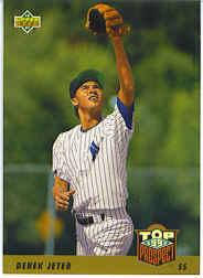 1993 Upper Deck Gold Hologram #449 Derek Jeter !