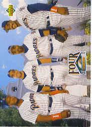 1993 Upper Deck Gold Hologram #474 Sheff/Plant/Gwynn/McGrif