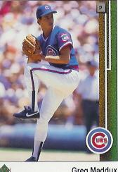 1993 Upper Deck Gold Hologram #488 Greg Maddux AW