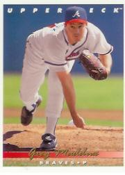 1993 Upper Deck Gold Hologram #535 Greg Maddux