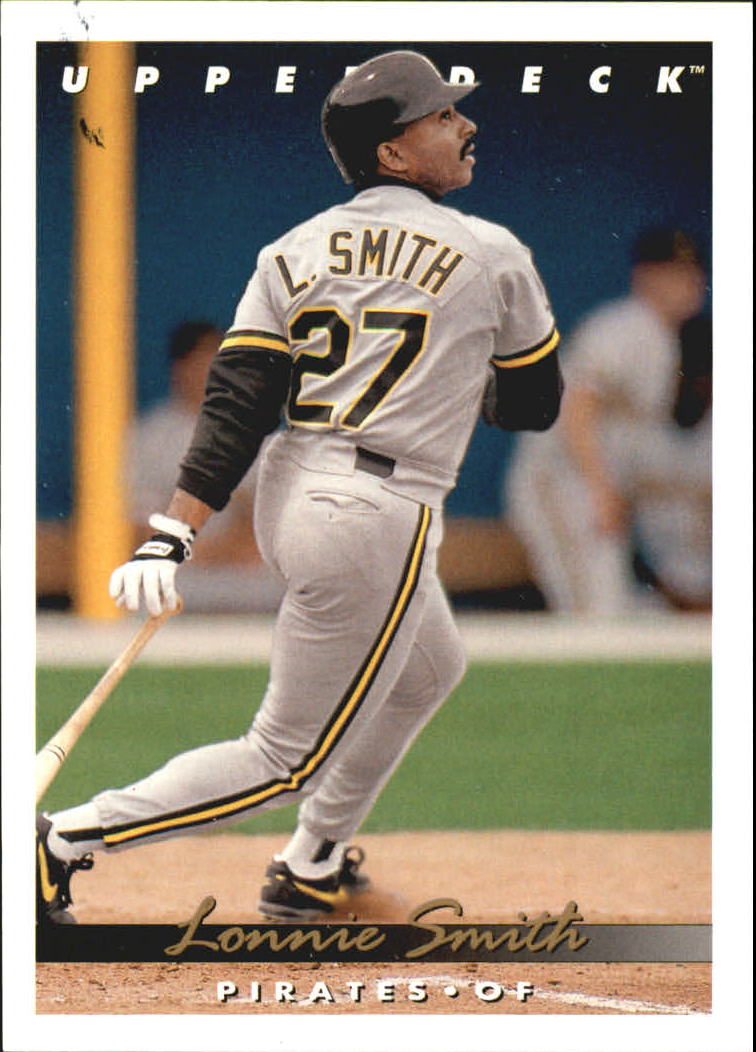 1993 Upper Deck Gold Hologram #716 Lonnie Smith