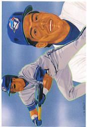 1993 Upper Deck Gold Hologram #815 Roberto Alomar TC