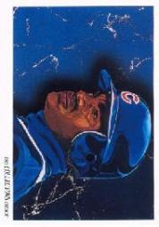 1993 Upper Deck Gold Hologram #819 Sammy Sosa TC