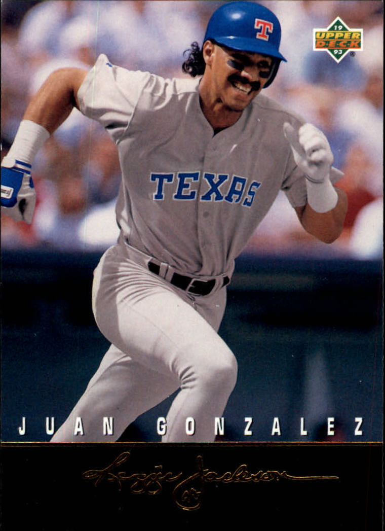 1993 Upper Deck Clutch Performers #R10 Juan Gonzalez