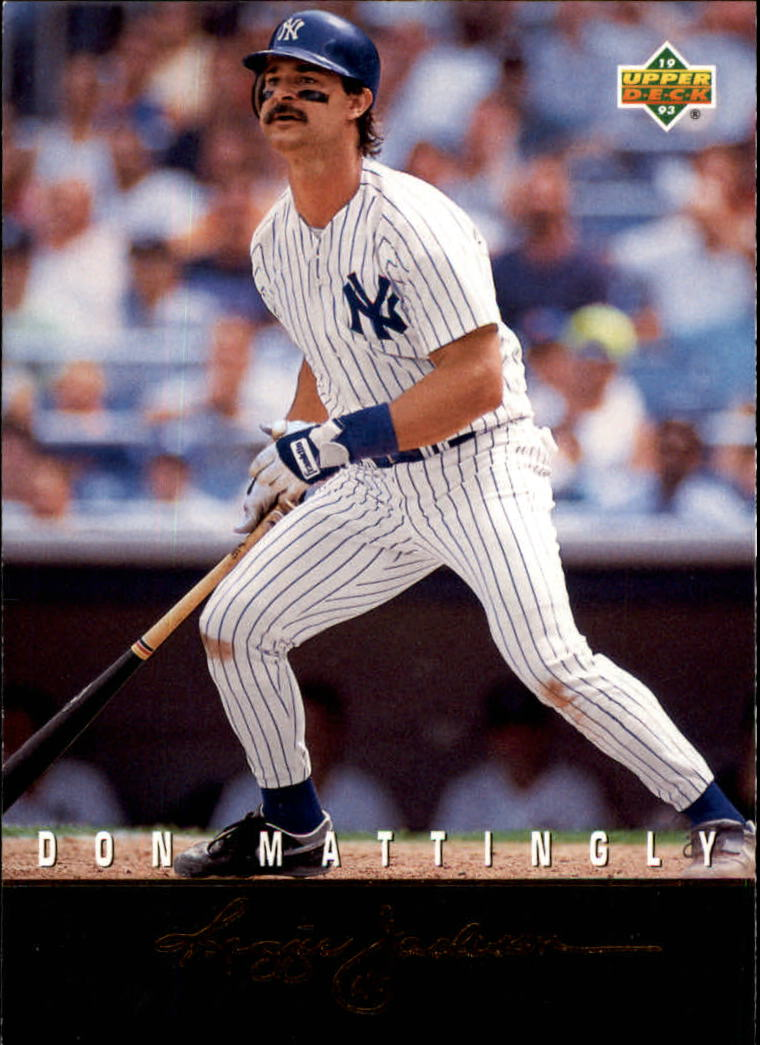 1993 Upper Deck Clutch Performers #R14 Don Mattingly
