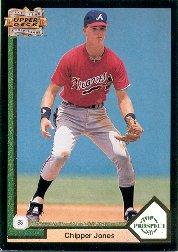 1993 Upper Deck Fifth Anniversary #A11 Chipper Jones