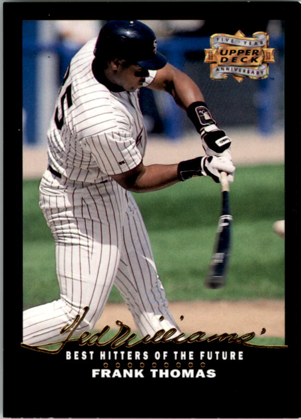 1993 Upper Deck Fifth Anniversary #A14 Frank Thomas