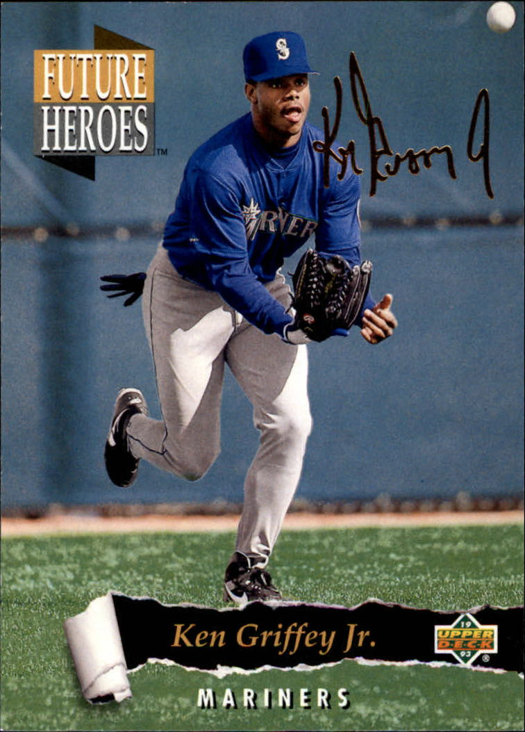 1993 Upper Deck Future Heroes #59 Ken Griffey Jr.