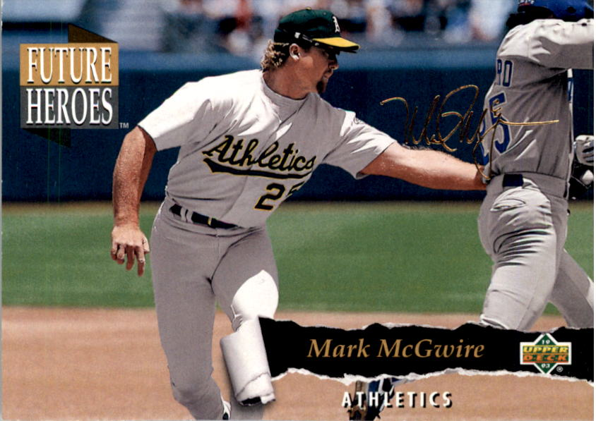 1993 Upper Deck Future Heroes #60 Mark McGwire