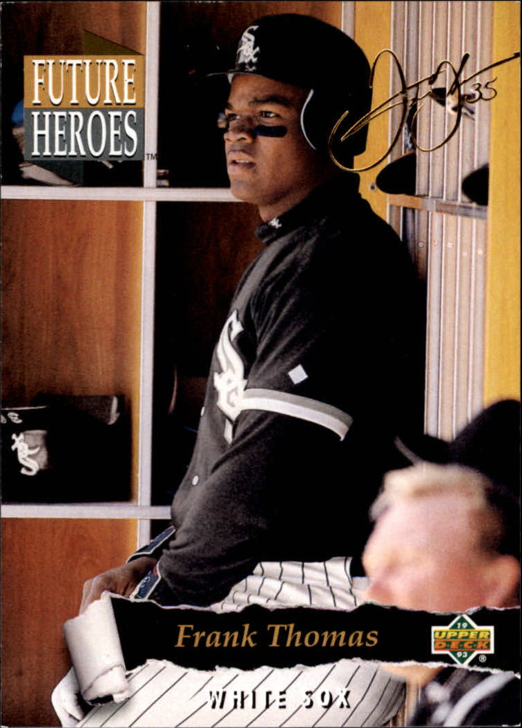 1993 Upper Deck Future Heroes #62 Frank Thomas