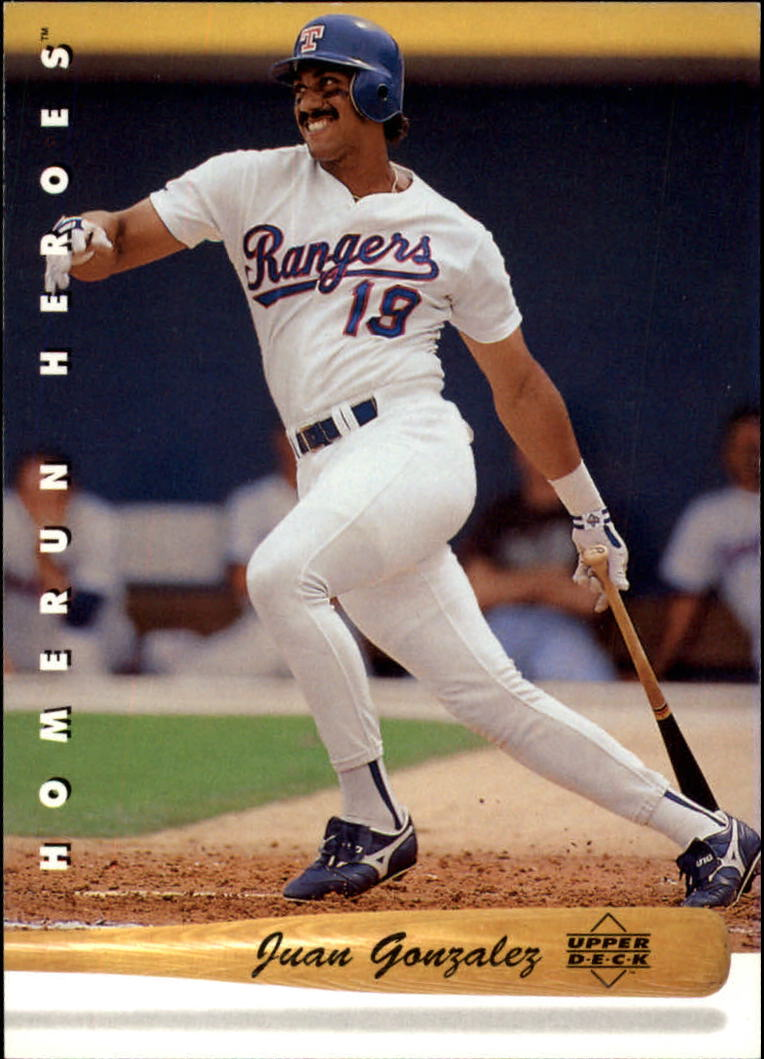 1993 Upper Deck Home Run Heroes #HR1 Juan Gonzalez