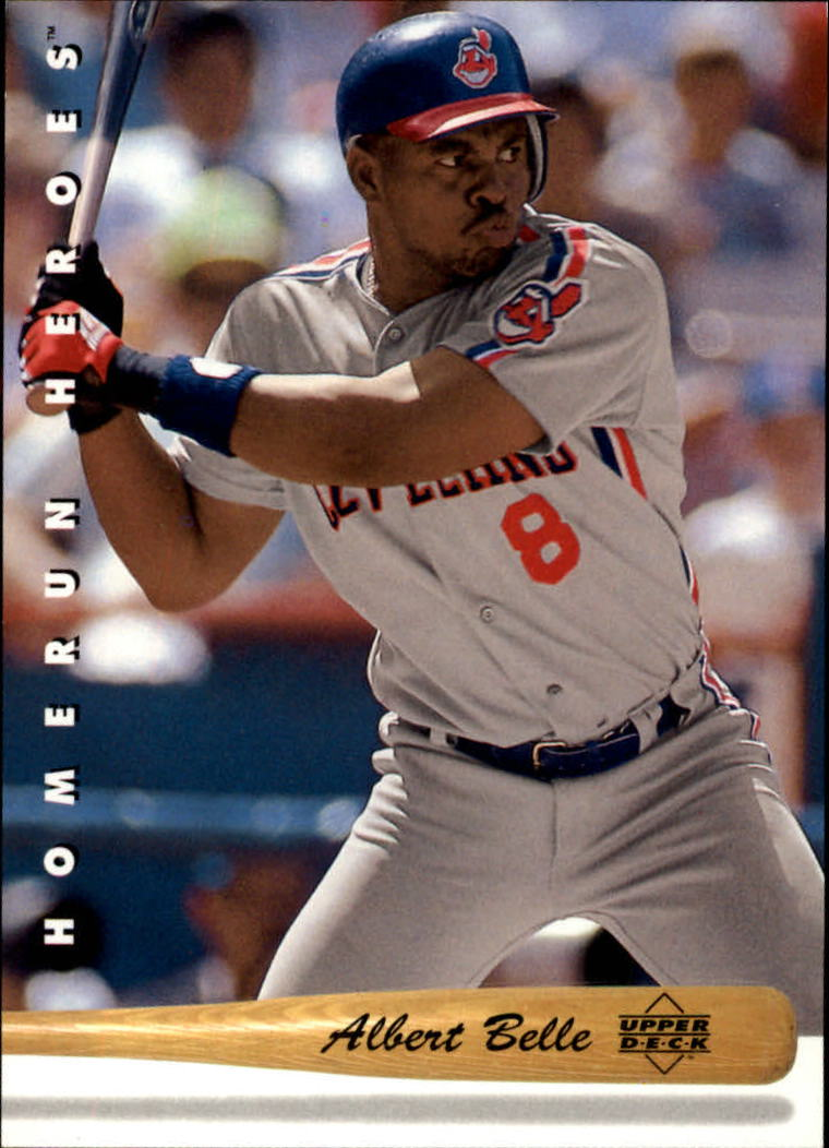 1993 Upper Deck Home Run Heroes #HR5 Albert Belle