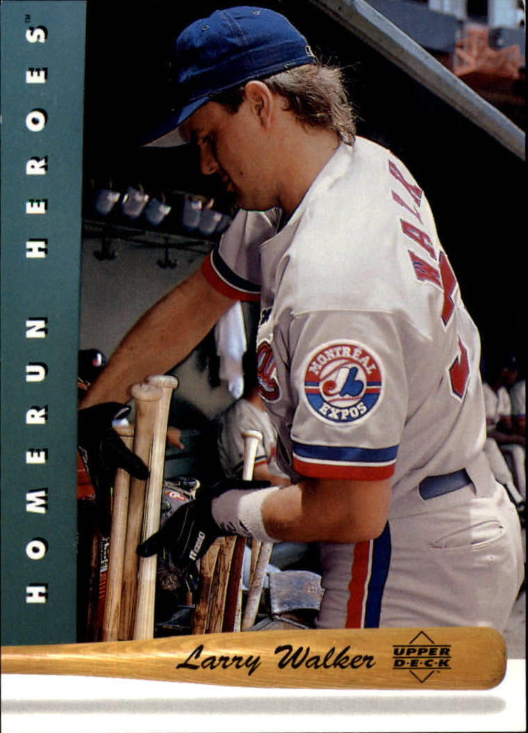1993 Upper Deck Home Run Heroes #HR16 Larry Walker