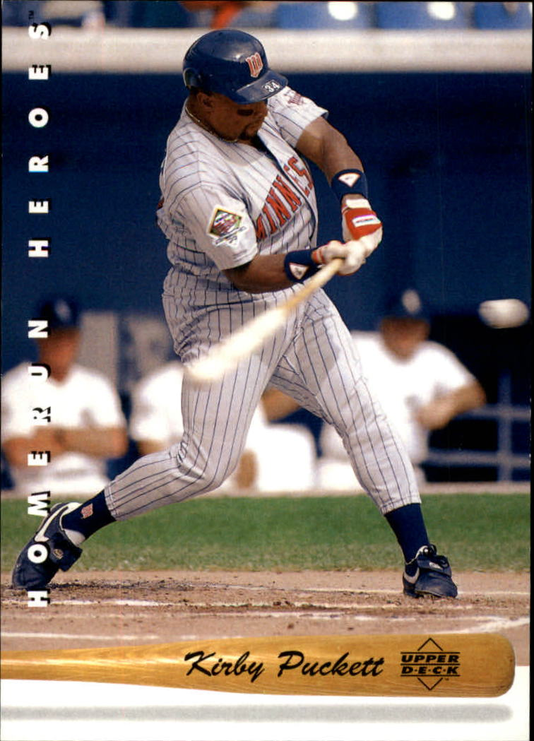 1993 Upper Deck Home Run Heroes #HR24 Kirby Puckett