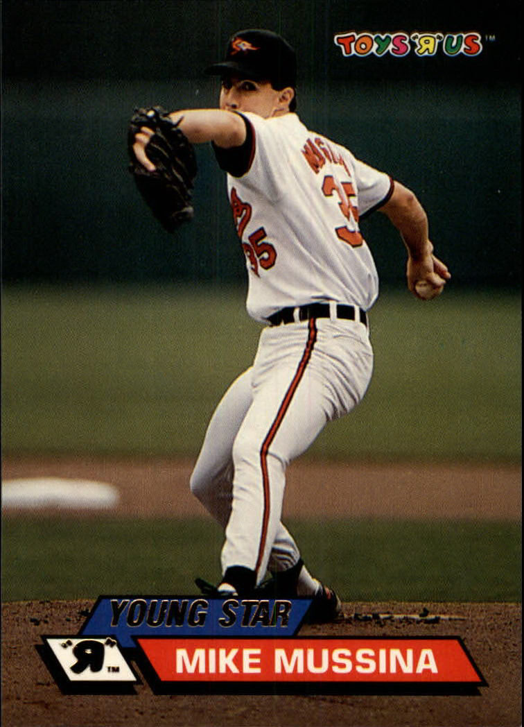 1993 Toys'R'Us #37 Mike Mussina