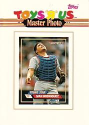 1993 Toys'R'Us Master Photos #10 Ivan Rodriguez