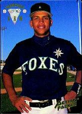 1994 Action Packed 24K Gold Diamond #1G Alex Rodriguez