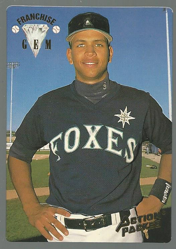 1994 Action Packed #55 Alex Rodriguez FG