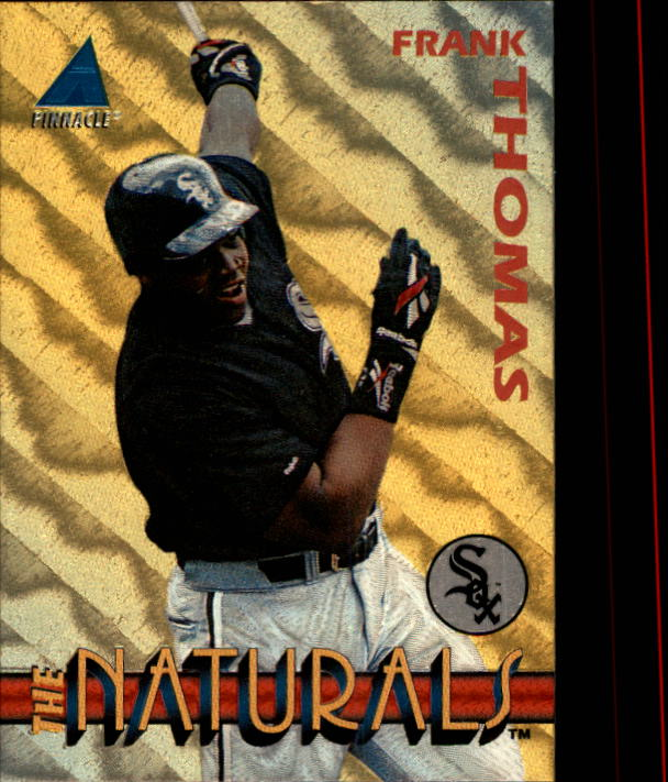 1994 Pinnacle The Naturals #1 Frank Thomas