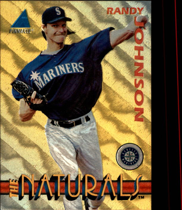 1994 Pinnacle The Naturals #10 Randy Johnson