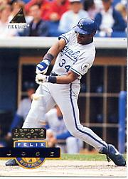 1994 Pinnacle Artist's Proofs #77 Felix Jose