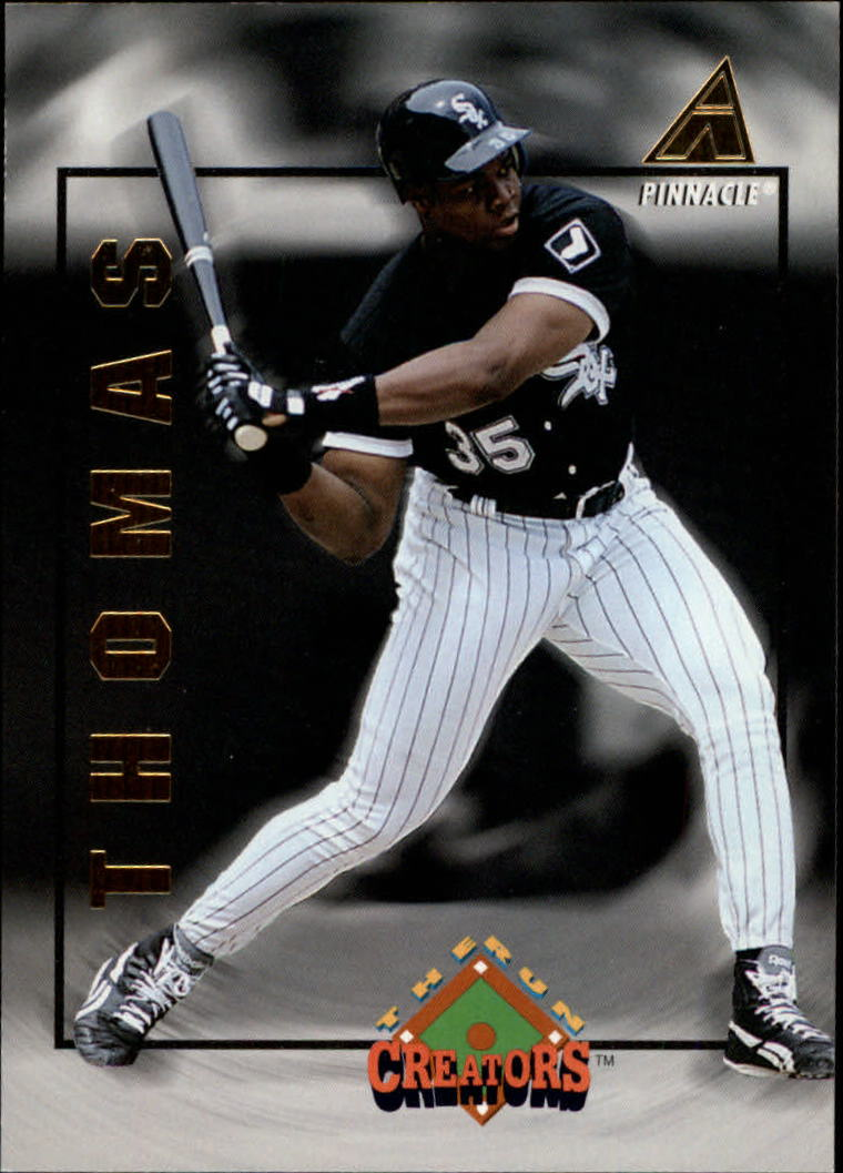 1994 Pinnacle Run Creators #RC2 Frank Thomas