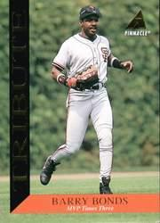 1994 Pinnacle Tribute #TR8 Barry Bonds
