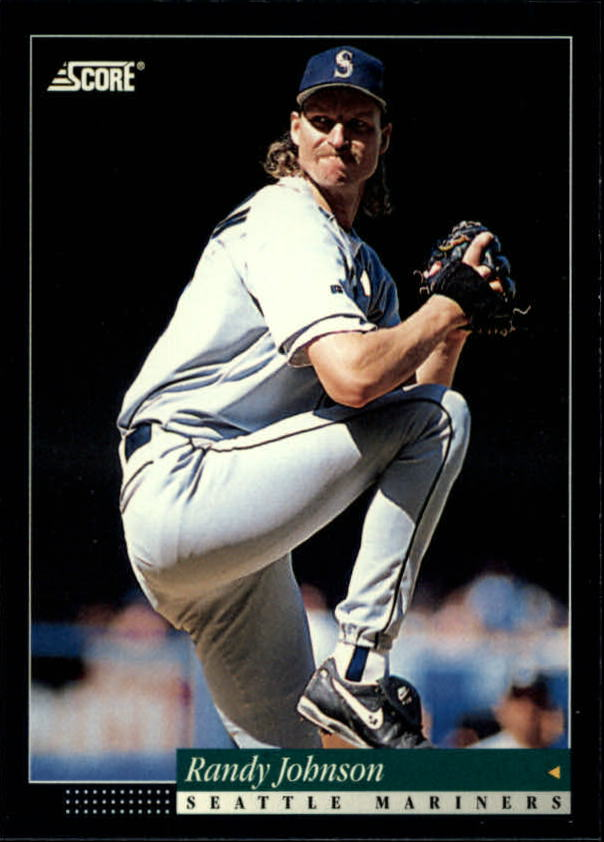 1994 Score #33 Randy Johnson