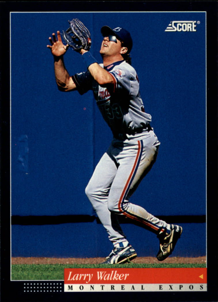 1994 Score #376 Larry Walker