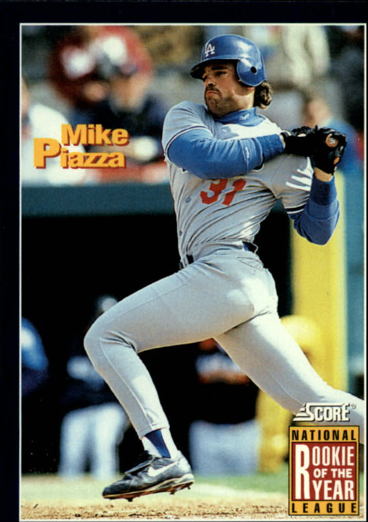 1994 Score #636 Mike Piazza ROY