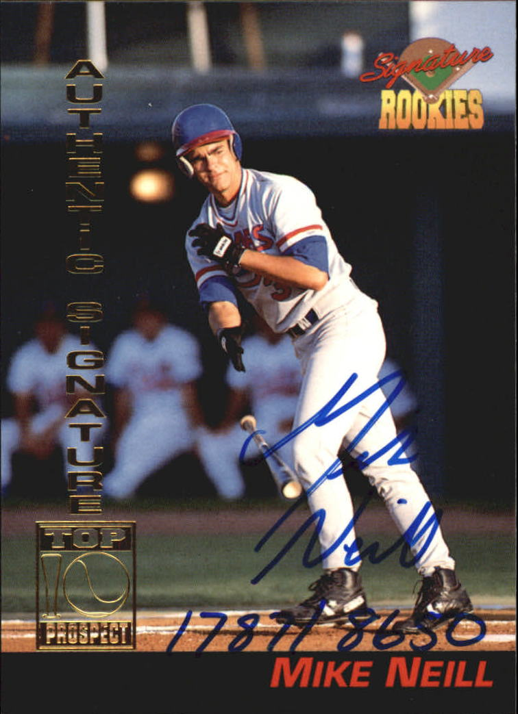1994 Signature Rookies Signatures #20 Mike Neill