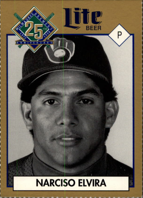 1994 Brewers Miller Brewing #118 Narciso Elvira