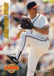 1994 Church's Hometown Stars #4 Greg Maddux