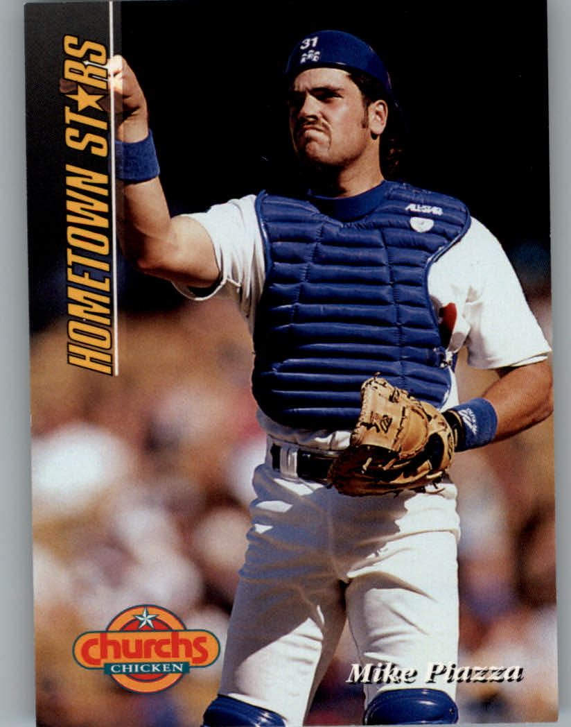 1994 Church's Hometown Stars #14 Mike Piazza