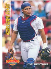 1994 Church's Hometown Stars #27 Ivan Rodriguez