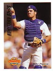 1994 Church's Hometown Stars Gold #14 Mike Piazza