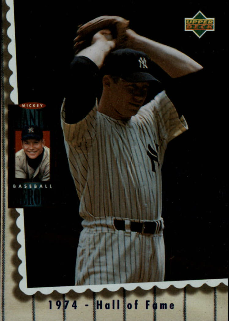 1994 Upper Deck Mantle Heroes #71 Mickey Mantle/1974 Hall of Fame