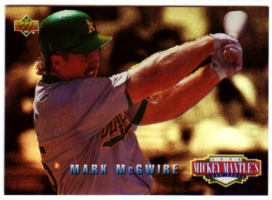 1994 Upper Deck Mantle's Long Shots #MM13 Mark McGwire