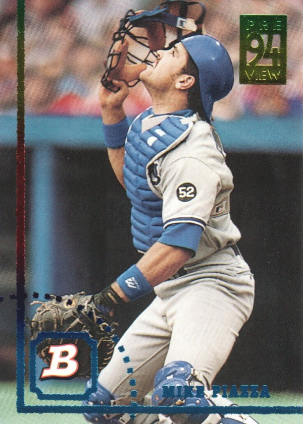 1994 Bowman Previews #2 Mike Piazza
