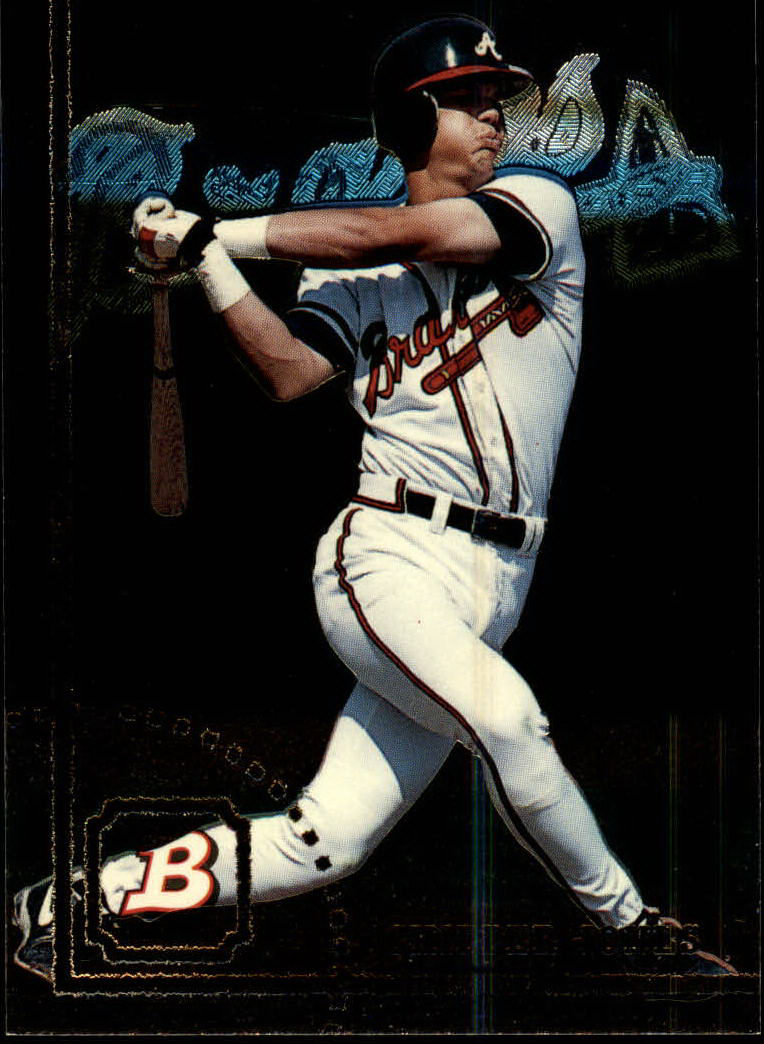 1994 Bowman #353 Chipper Jones FOIL
